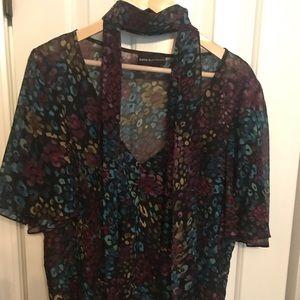 100% silk Dana Buchman blouse, size 16